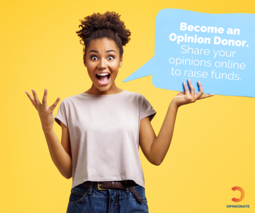 Become an opinion donor